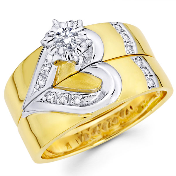Gold Wedding Rings for Women - Beautifull and Latest ...