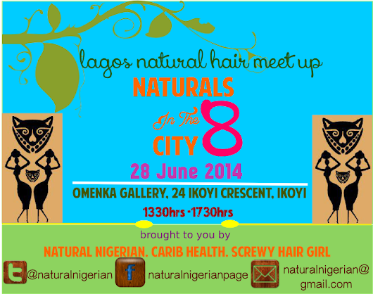 Naturals In The City Event is here again!