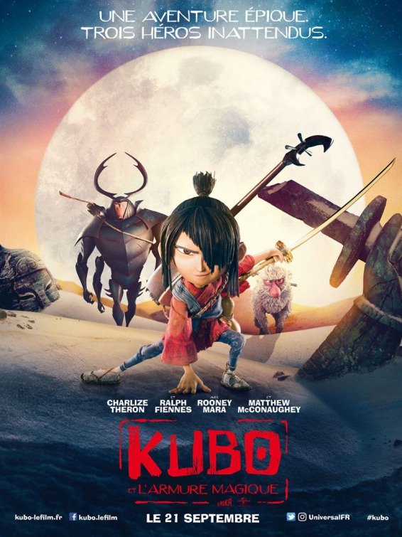 Kubo and the Two Strings 2016 movie Poster