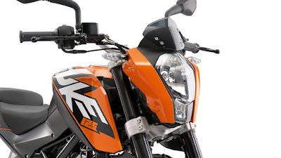 New 2016 KTM Duke 125 close up shot HD Wallpapers