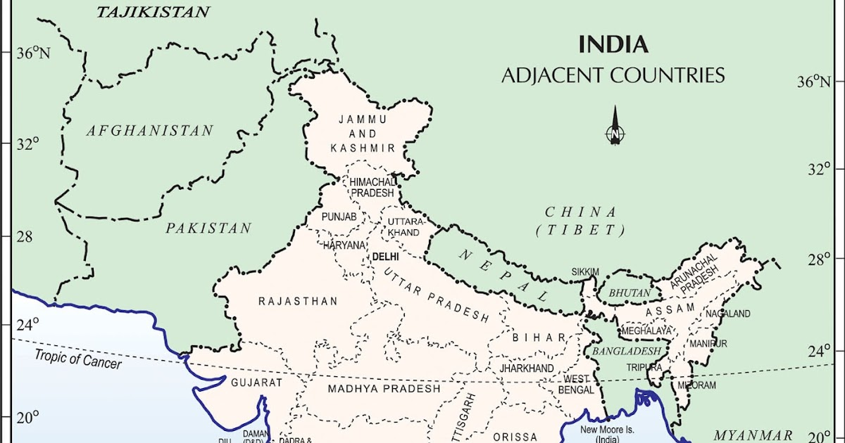 india and its neighbouring countries border disputes maps and international relations