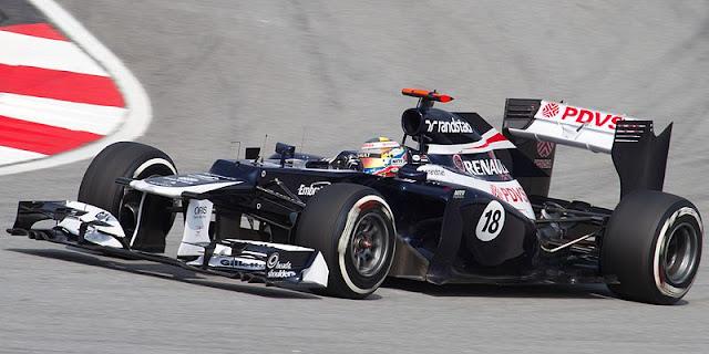 Gambar Mobil Balap F1 Williams 02