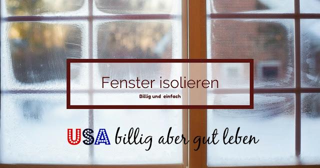 Spare an Heizkosten und isoliere deine Fenster billig