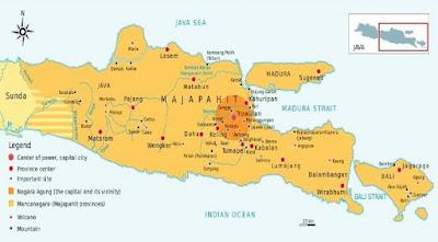 Pembagian wilayah kerajaan Majapahit - berbagaireviews.com