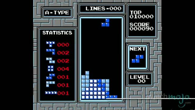 TOP 10 VIDEO GAMES OF ALL TIME 2. Tetris (1984)