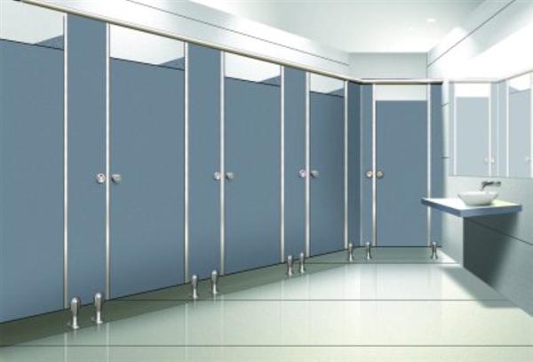 Vách ngăn vệ sinh hiện đại ngày càng đa dạng các kiểu dáng, kích thước, chất liệu và màu sắc đem đến cho nhà vệ sinh công cộng một màu sắc đổi khác hoàn toàn