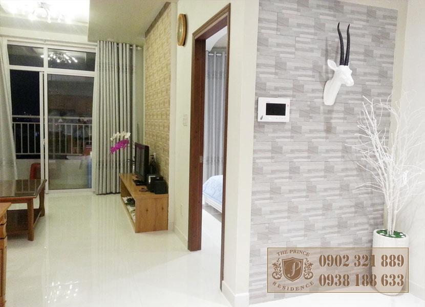 Bán căn hộ 1PN tại The Prince - tổng thể phòng khách