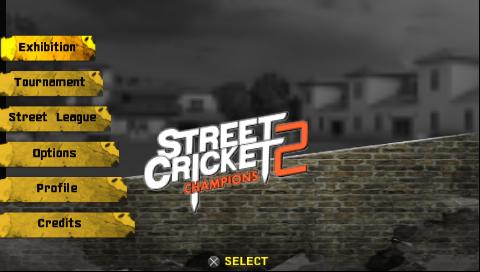 Psp game street cricket download