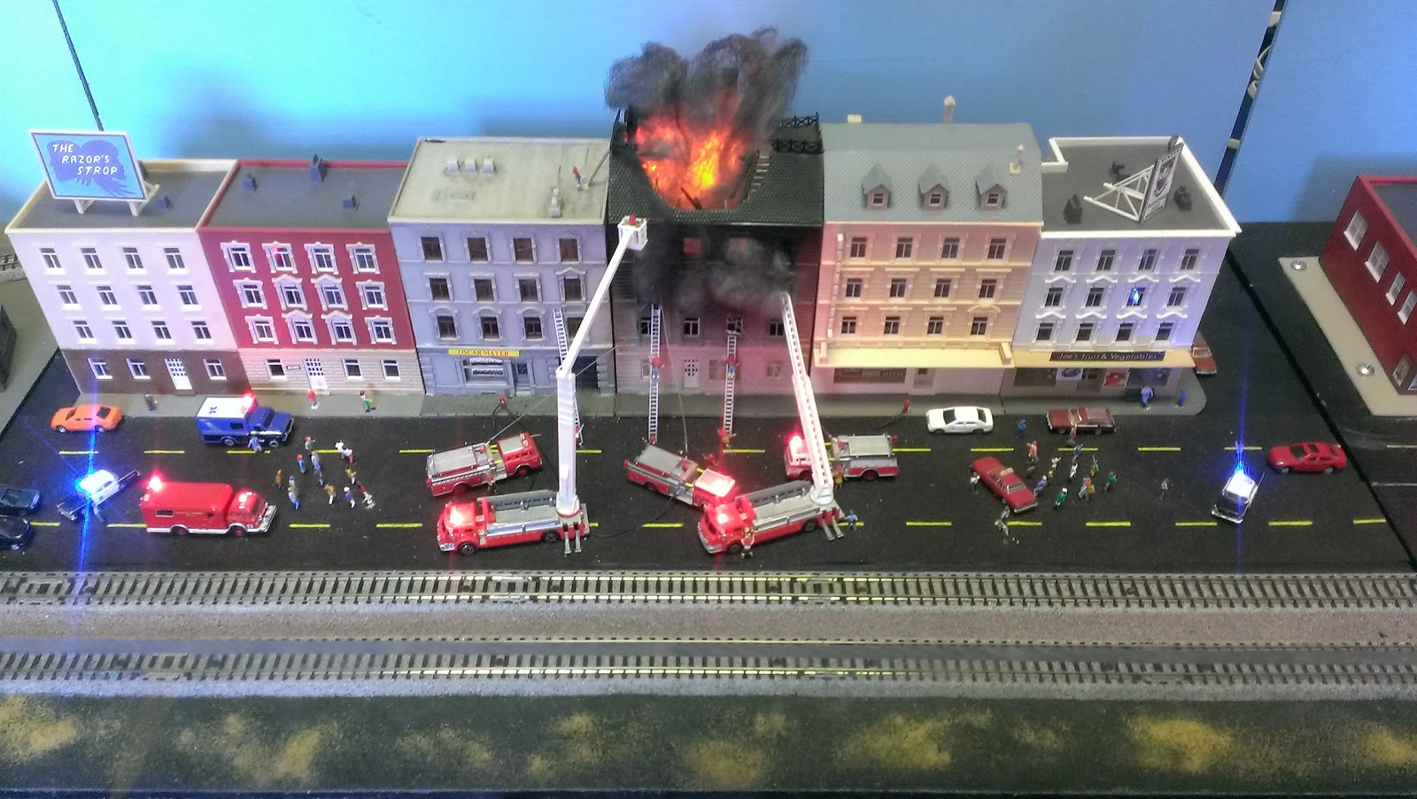 Cars And Coffee San Diego >> Model Railroad Fire