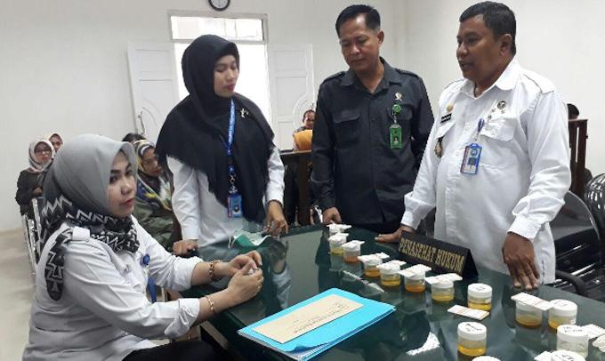 Tes Urine Pegawai dan Hakim PN Watampone, BNNK: Hasilnya 15 Orang Positif
