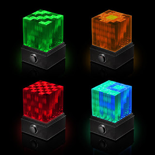 Bocina Supernova Light Cube