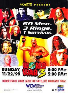 WCW World War 3 1998 Review - Event poster