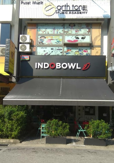 Experience Dine In Indobowl Cafe @Lakefields Sungai Besi