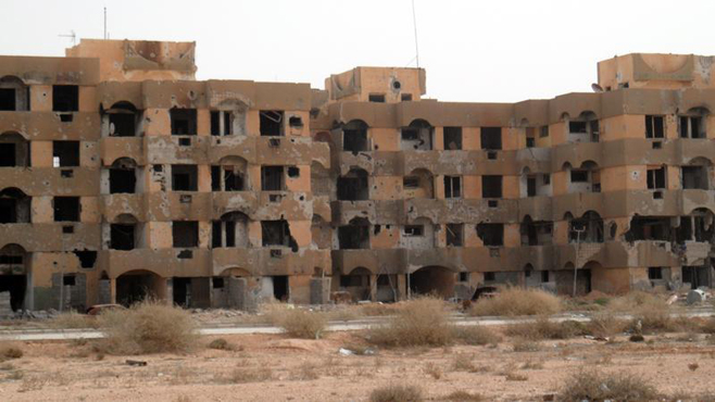 10 Most Famous Abandoned Places In the World | Tawergha, Libya
