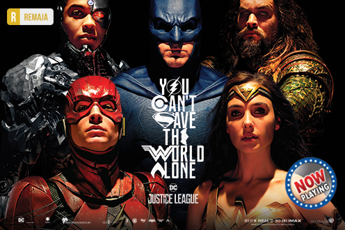 Film JUSTICE LEAGUE Bioskop