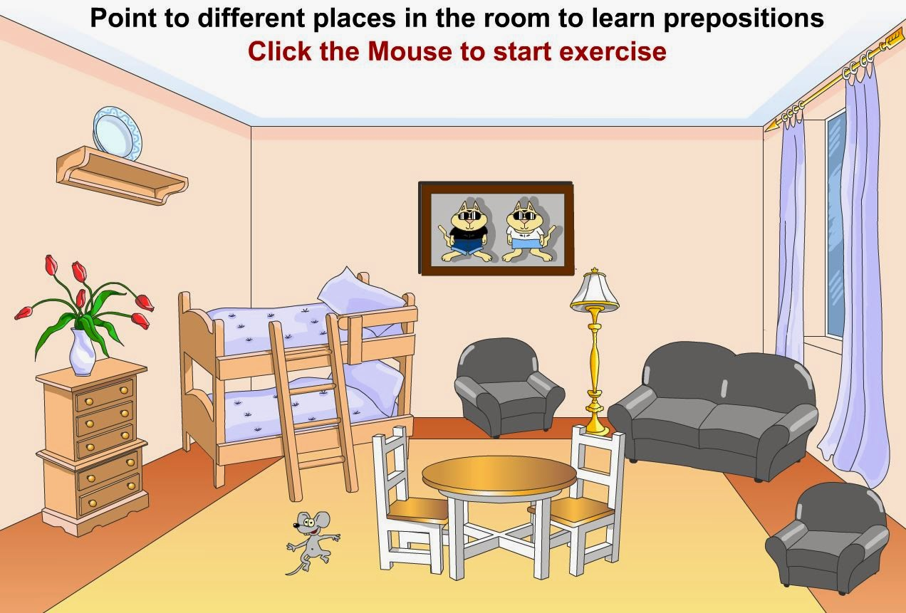 Kids 6th Prepositions Of Place