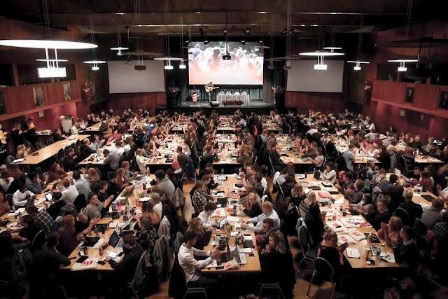 اتحاد شبيبة الساقية الحمراء ووادي الذهب يشارك في مؤتمر الشبيبة الاشتراكية النروجية