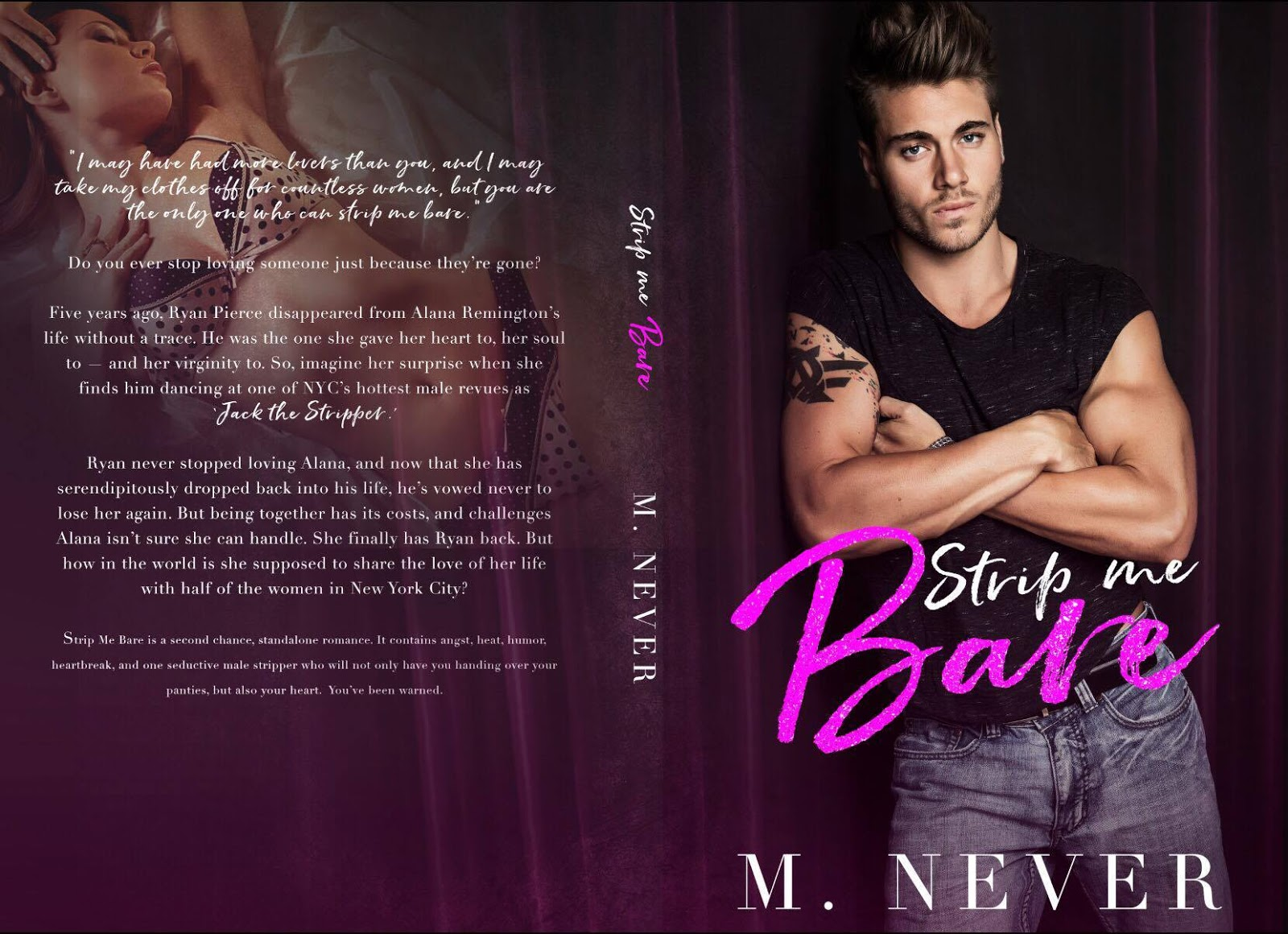 Wandering Thoughts of a Writer: Release Boost! Strip Me Bare by