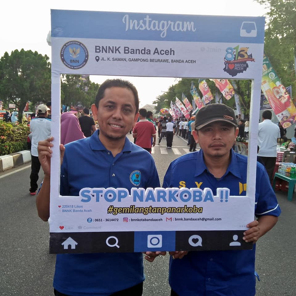 Berfikir Dan Berjiwa Besar Hut Banda Aceh Ke 813 Tahun Gemilang Tanpa Narkoba