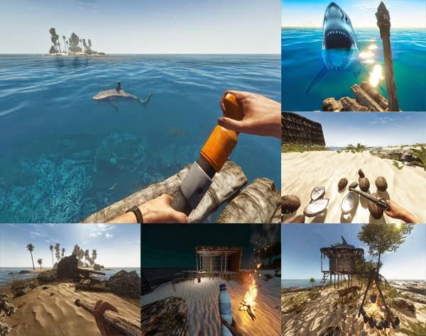stranded deep jogo de sobrevivencia estilo naufrago em uma ilha paradisiaca