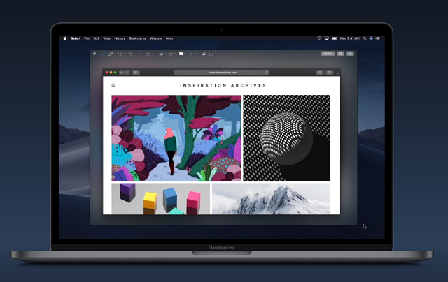MacOS Mojave Screenshot option
