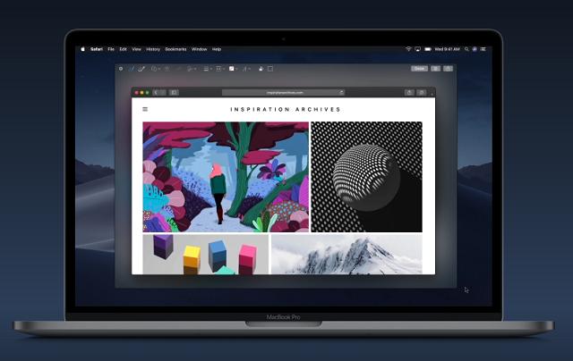 MacOS Mojave Screenshot option