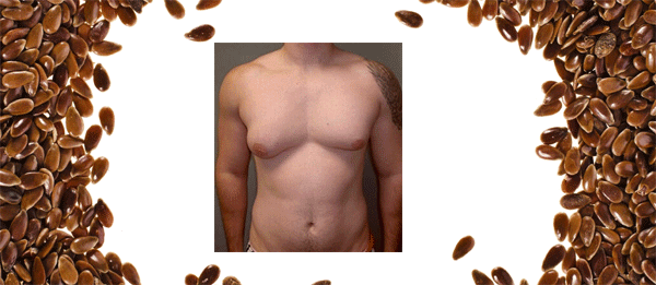 Lose Man Breast with Flax Seeds