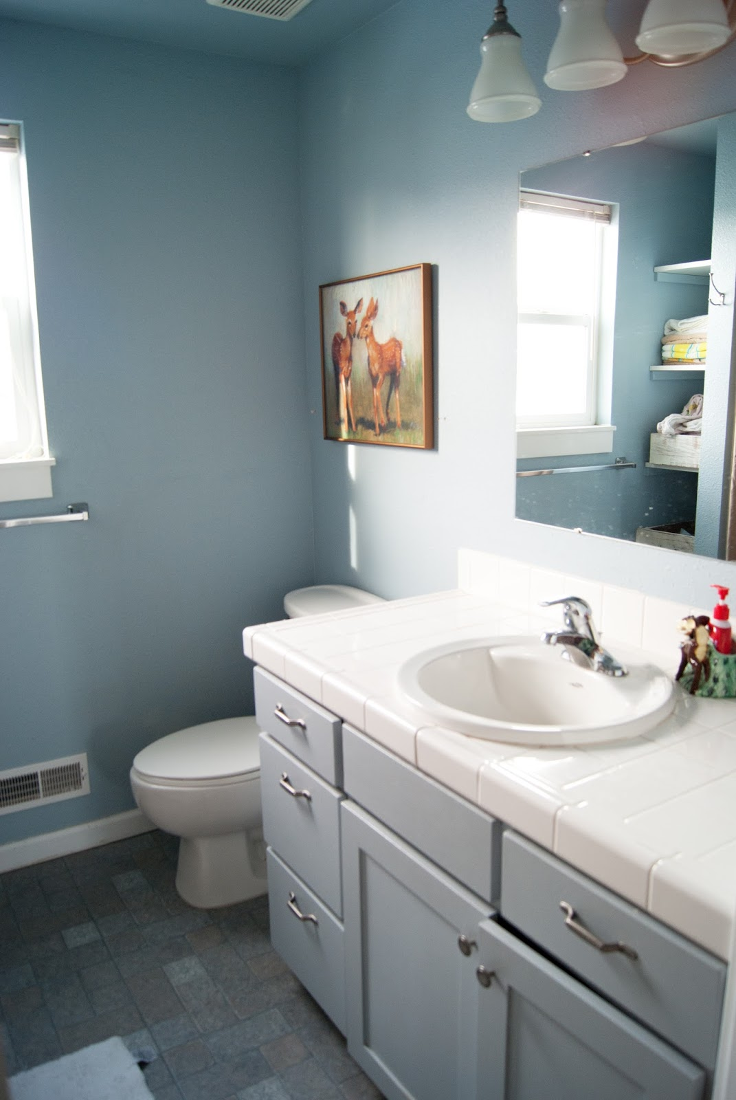 Project Kid S Bathroom How To Personalize Builder Grade