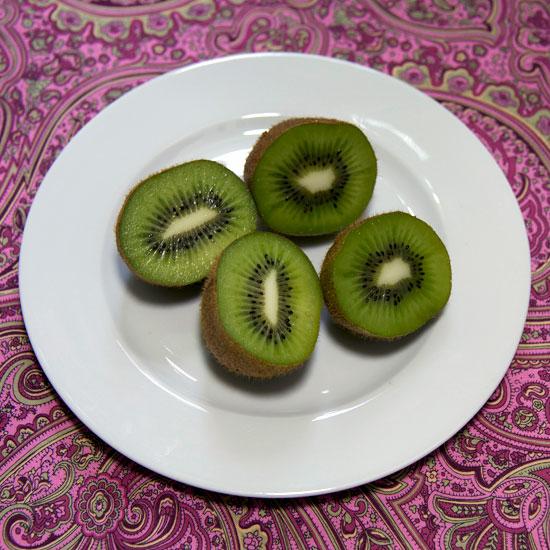 kiwi schokolade pool donut