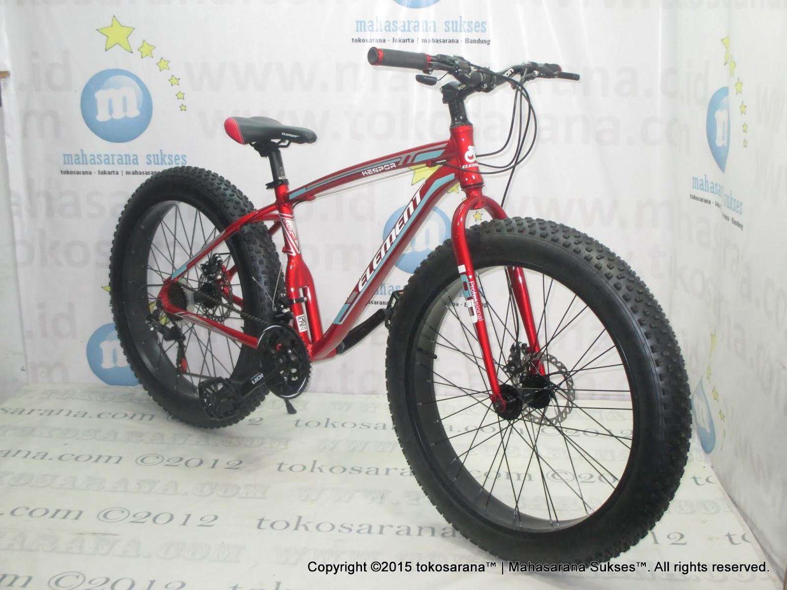 Sepeda Gunung Speed Element Kespor 21 Ban Besar 26 Inci