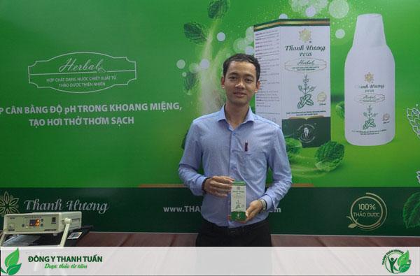 Khách hàng cảm thấy hài lòng khi sử dụng các sản phẩm điều trị hôi miệng Thanh Tuấn