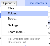Docs Upload