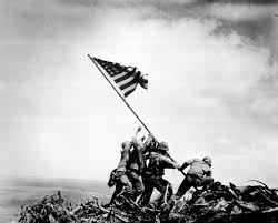 foto Iwo Jima tahun 1945