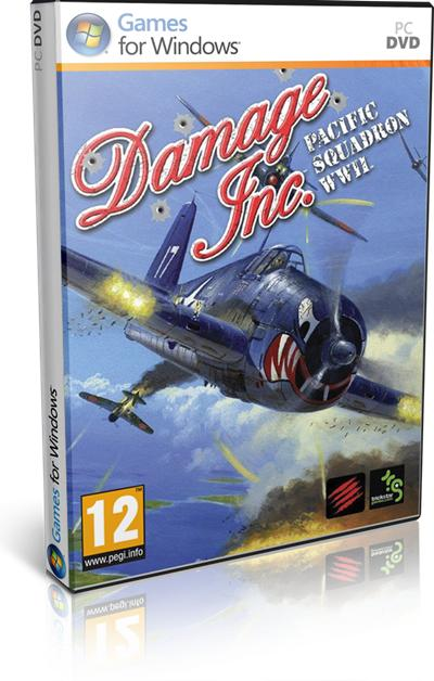 Damage Inc Pacific Squadron WWII PC Full Español Skidrow 2012
