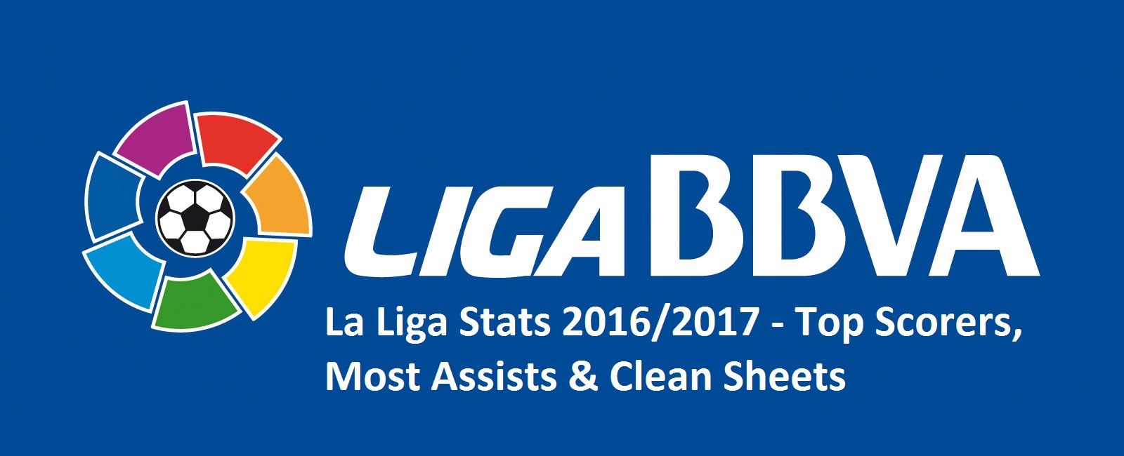 La Liga Stats 2016/2017 - Top Scorers, Most Assists & Clean Sheets