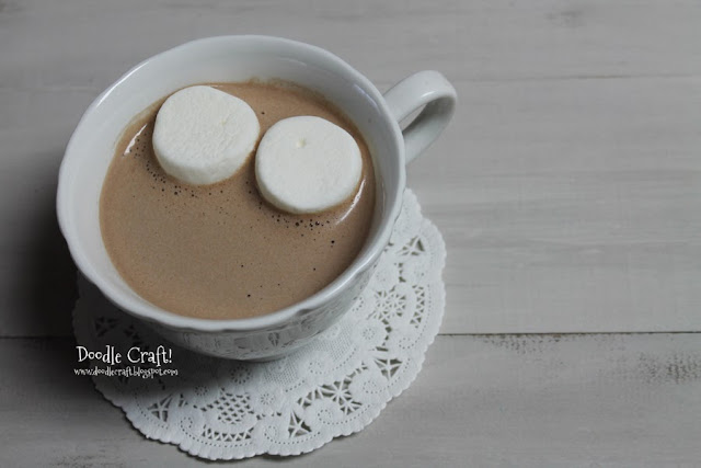 Doodlecraft: Homemade Hot Chocolate Cocoa Mix!