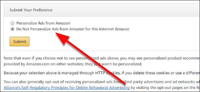 How to Turn Off Amazon's Personalized Ads Around the Web