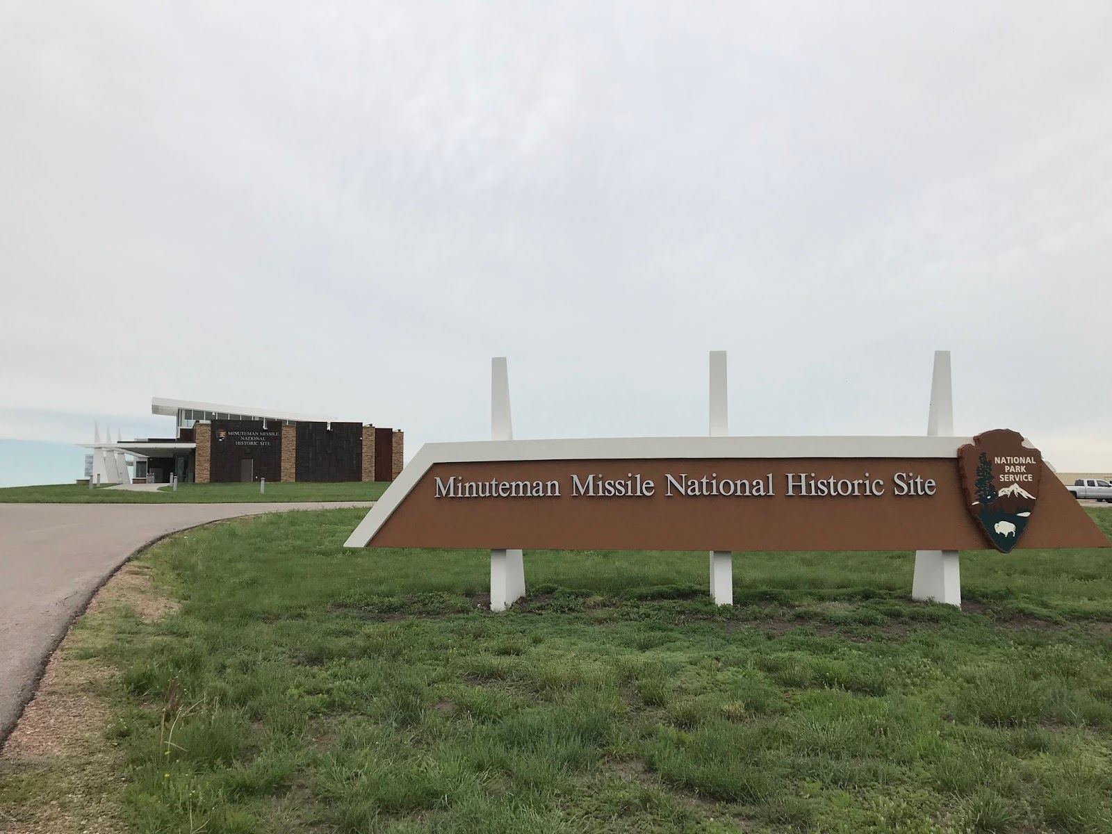before we went to delta 01 we watched a brand new 30 minute movie called beneath the plains the minuteman missile on alert the national parks released