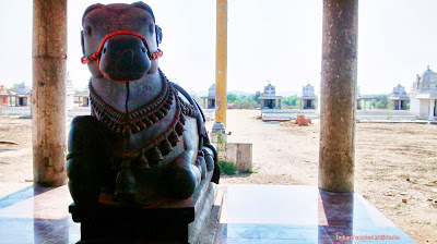 Lord Nandeeswara at Muktyala Kotilingala Temple