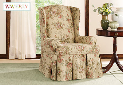 anywhere chair insert rent chiavari chairs sure fit slipcovers: introducing bridgewater floral, waverly™ by - designs you won't ...