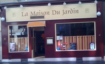 Paris missives la maison du jardin restaurant review - La maison du jardin restaurant paris ...