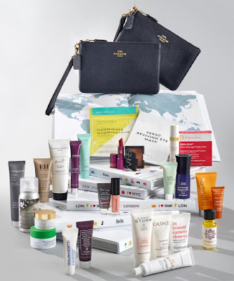 Here are the contents of the Space NK x Coach Summer 2019 Destination Beauty Edit