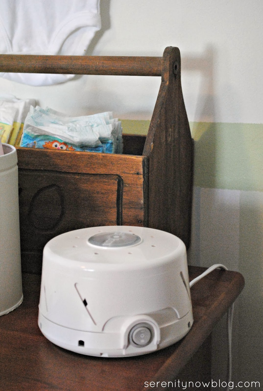 Sleep Tip: Use a White Noise Machine in Baby's Room (from Serenity Now)