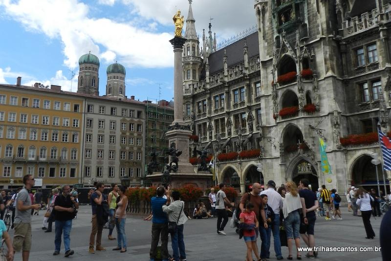 Munique praça central e prefeitura