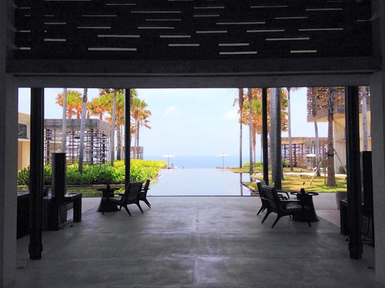 Euriental | fashion & luxury travel | Alila Villas Uluwatu, lobby view