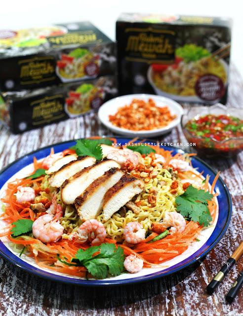 Asian Noodle Salad ala Bakmi Mewah