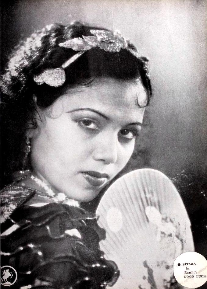 Sitara in 1939 film Good Luck