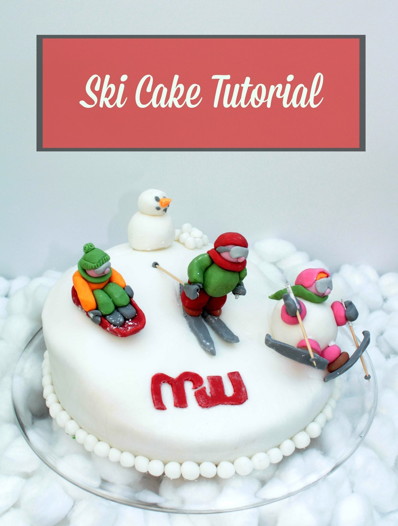 How To Make A Ski Slope Cake