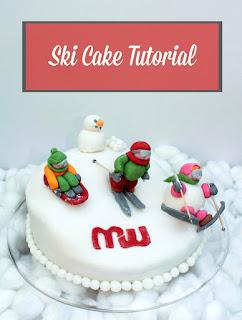 ski cake turorial