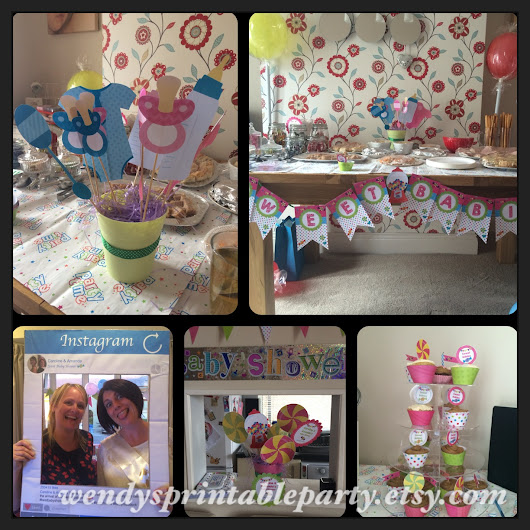 """Sweet Babies"" Themed Baby Shower"
